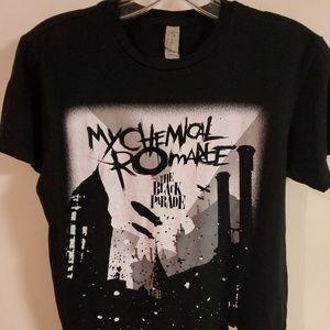 Womens My Chemical Romance band tee sz XS.